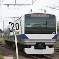 Photos: 常磐線 E531系K420編成 327M 普通勝田行