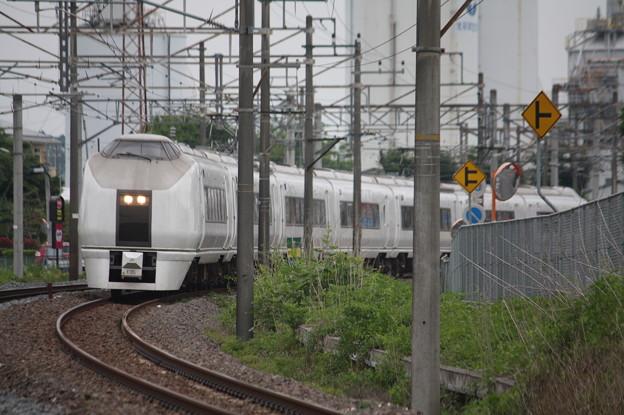 651系K105編成 9114M 急行ぶらり横浜・鎌倉号