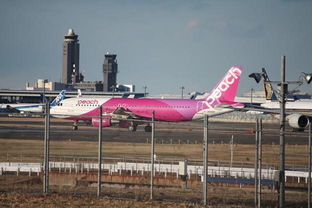 ピーチ エアバスA320-200 JA802P