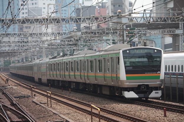東海道線 E233系3000番台E-02編成