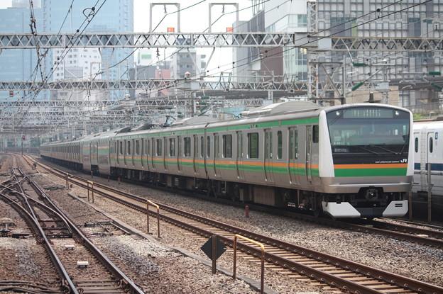 東海道線 E233系3000番台E-02編成 (1)