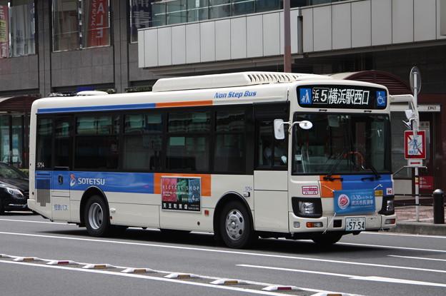 相鉄バス 新型エルガミオ 5754号車