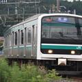 水戸線 E501系K754編成 753M 普通 友部 行 (1)