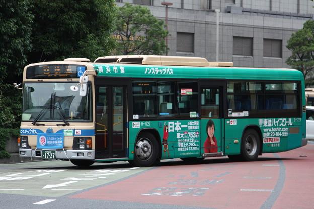 横浜市営バス 0-1727号車 「東進ハイスクール」ラッピング