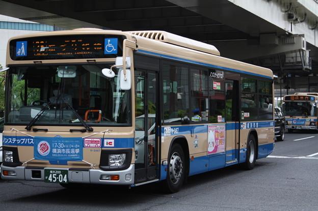 横浜市営バス 新型ブルーリボン 6-3467号車