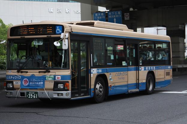 横浜市営バス 8-3961号車