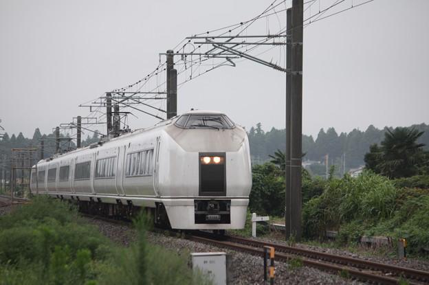 651系K105編成 9401M 急行 ロックインジャパン号 (3)