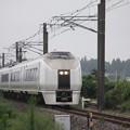 Photos: 651系K105編成 9401M 急行 ロックインジャパン号 (3)