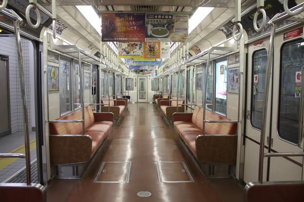 大阪市営地下鉄四つ橋線 23系 車内