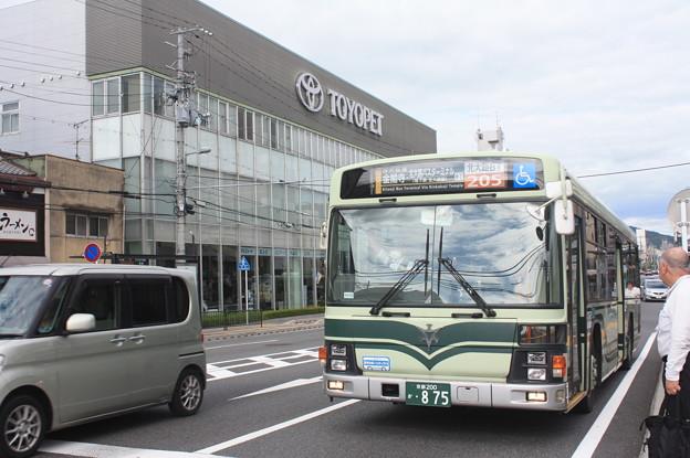 京都市営バス 875号車