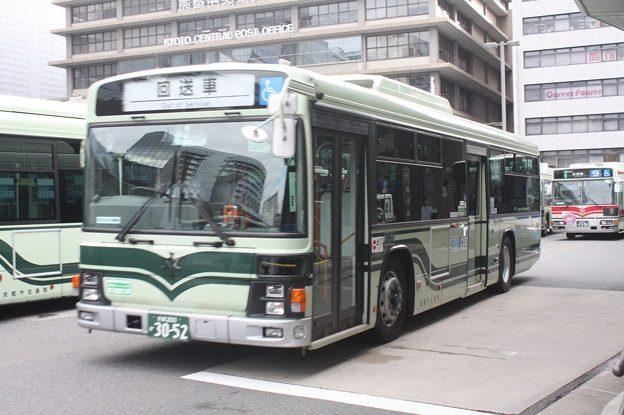 京都市営バス 3052号車