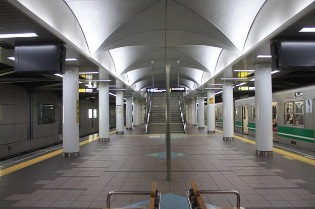 大阪市営地下鉄中央線 コスモスクエア駅 ホーム