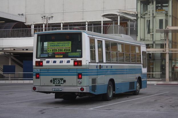 関東鉄道 1770TC 後部
