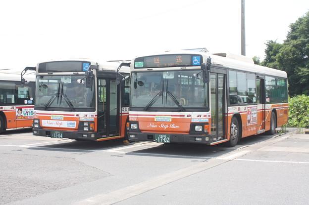 東武バス 9794号車・9932号車