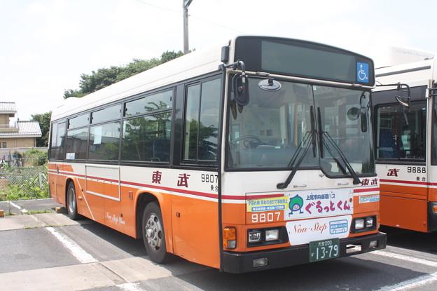 東武バス 9807号車