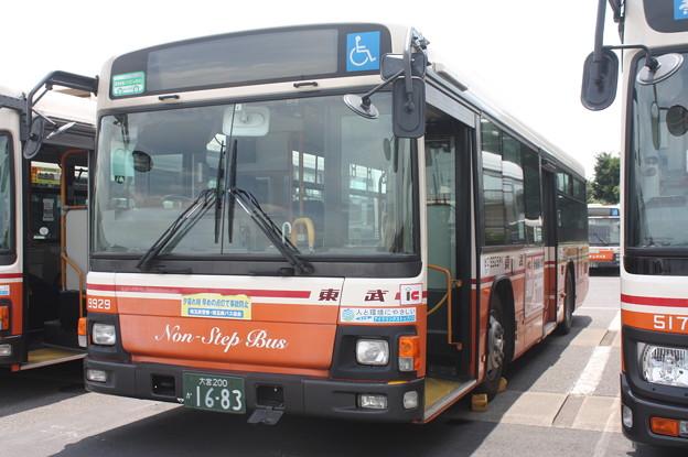 東武バス 9929号車