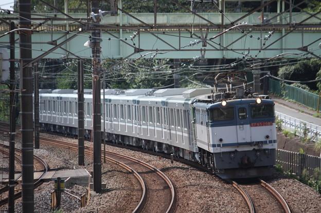 8860レ 東京メトロ13000系甲種輸送 EF65 2081牽引 (5)
