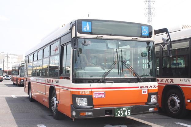東武バス 新型ブルーリボン 5155号車