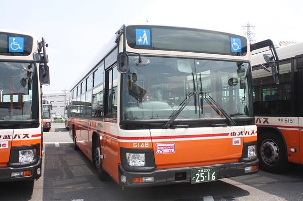 東武バス 新型ブルーリボン 5148号車
