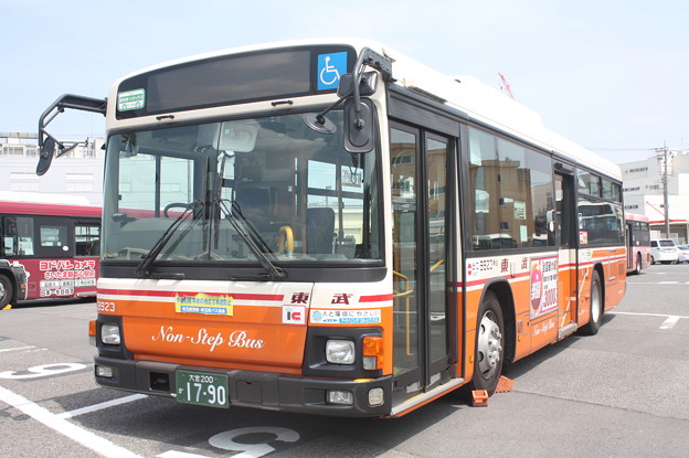 東武バス 9923号車