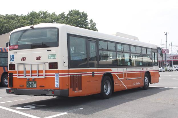 東武バス 9923号車 後部
