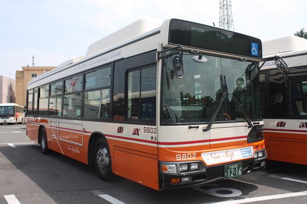 東武バス 9802号車