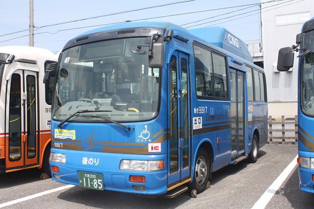 東武バス 9817号車