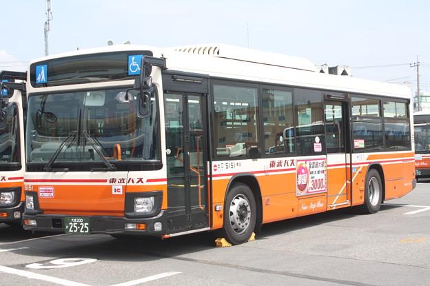 東武バス 新型ブルーリボン 5151号車