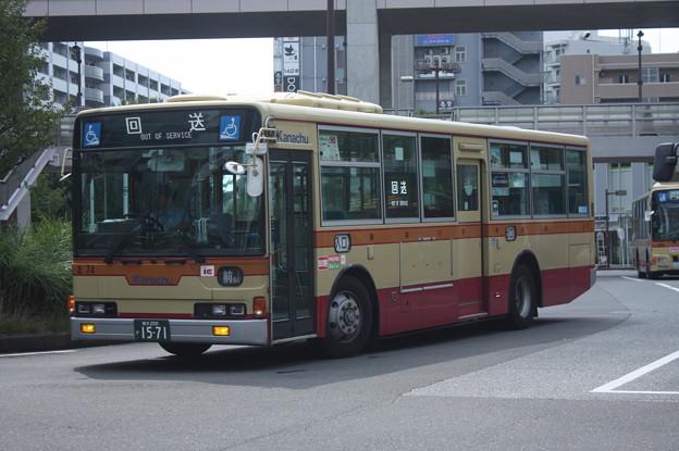 神奈川中央交通 お74号車