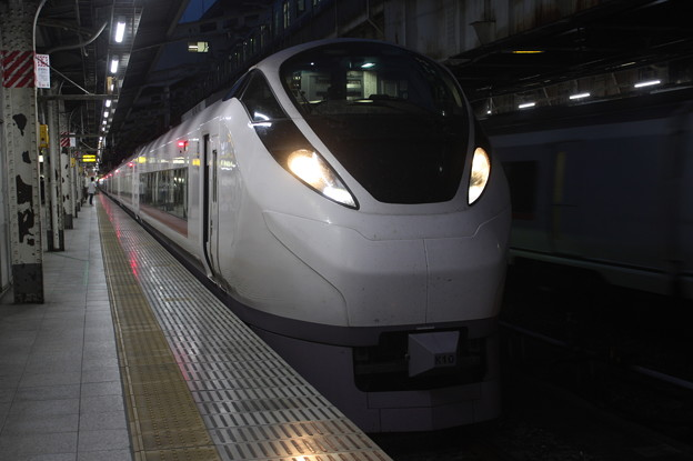 E657系K10編成 2073M 特急 ときわ73号 土浦 行