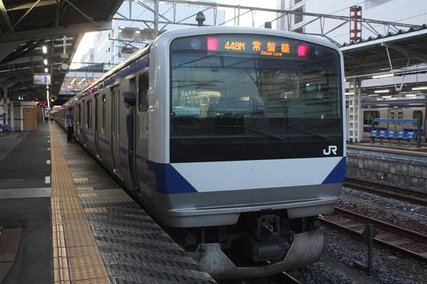 常磐線 E531系K401編成