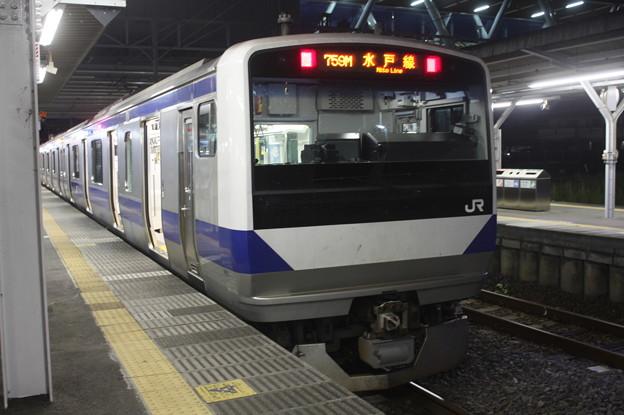 水戸線 E531系K459編成