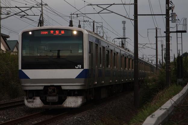 常磐線 E531系K404編成 399M 普通 勝田 行