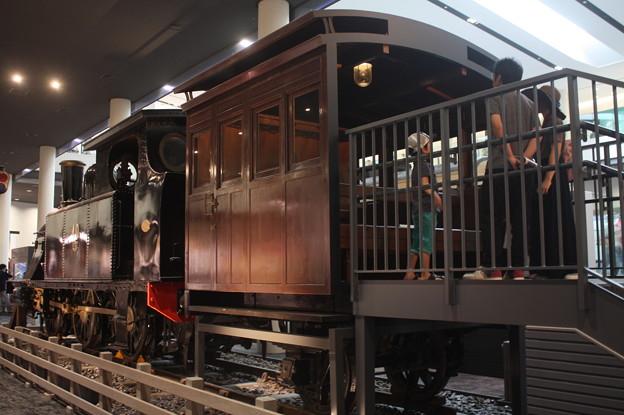 蒸気機関車 展示