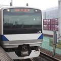 写真: 常磐線 E531系K455編成 334M 普通 上野 行