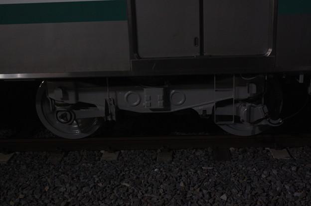 E501系 KY出場後の台車 (1)