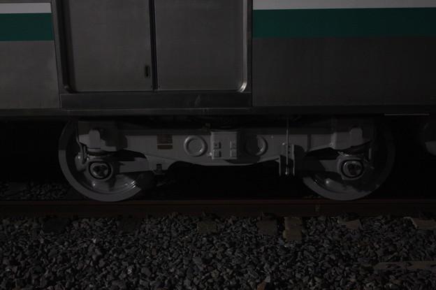E501系 KY出場後の台車 (2)