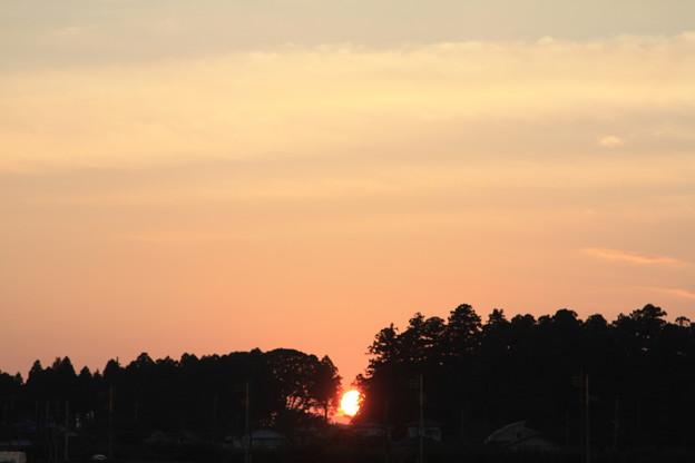 沈む夕日 (1)