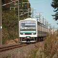 水戸線 E501系K754編成 754M 普通 小山 行