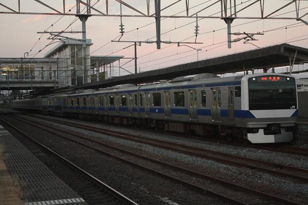 常磐線 E531系K408編成 450M 普通 上野 行