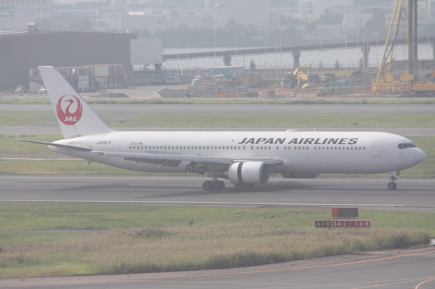 日本航空 JAL B767‐300 JA8975