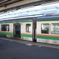 写真: 東海道線 終点熱海