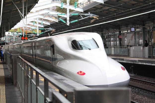 山陽新幹線 N700系4000番台(N700A)F8編成 新神戸発車