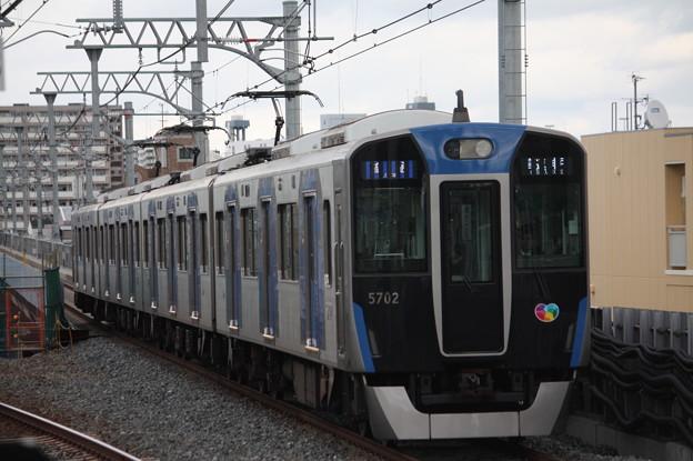 阪神本線 5700系5701F 普通 高速神戸 行