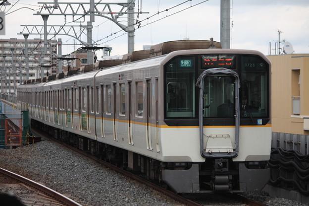 阪神本線 9700系9725F 快速急行 神戸三宮 行