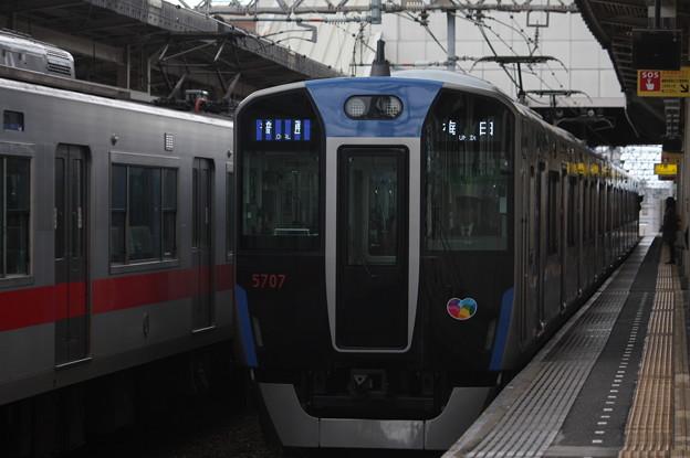 阪神本線 5700系5707F 普通 阪神梅田 行