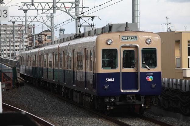 阪神本線 5000系5004F 普通 高速神戸 行