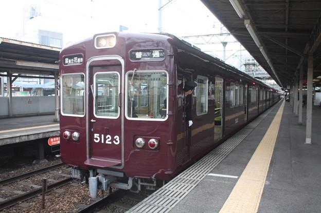 阪急宝塚線 5100系5123F 普通 雲雀丘花屋敷 行