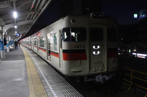 山陽電鉄本線 3000系3633F 普通 山陽姫路 行