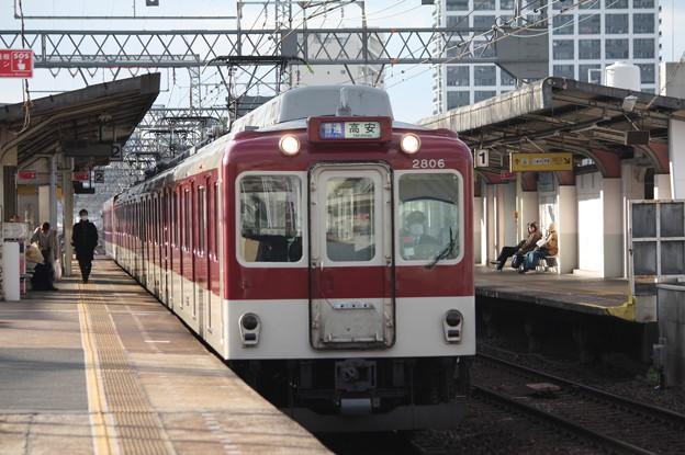 近鉄奈良線 2430系2806F 普通 高安 行